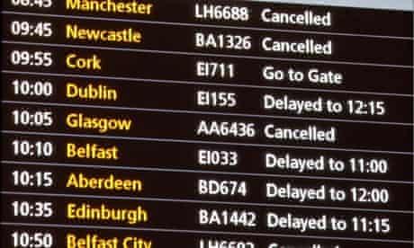 delayed flights