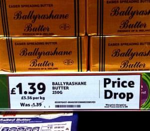 Daft Deals 051111: Butter promotion in Tesco, Newtownards, Northern Ireland