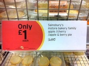 Daft Deals 051111: Pie offer in Sainsbury's, Hemel Hempsted