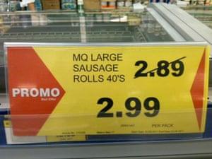 Daft Deals 051111: Sausage rolls deal in Makro, Reading