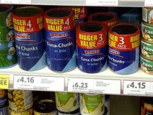Daft Deals 051111: Tuna deal in Tesco, Kensal Rise, London