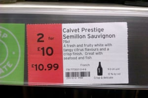 Daft Deals 051111: Wine deal in Sainsbury's, Burton-on-Trent