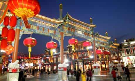 Chinese lantern festival in Beijing