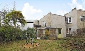 Teddington back garden