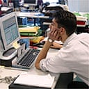 Quarter Of Uk Office Staff Unhappy Health The Guardian