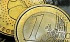 Euro money coins