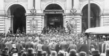 Savings bank crash of 1893