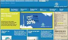 Energy Saving Trust website