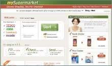 My supermarket website