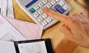Calculator spending and budget