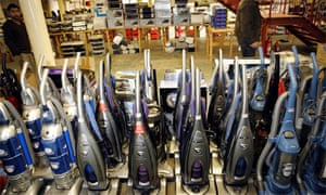 Auction of vacuum cleaners