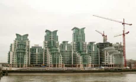 Flats in Vauxhall Wharf, London
