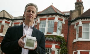 Ashley Seager and his solar panels