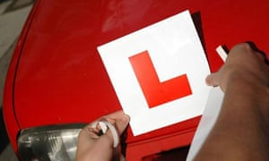 Learner driver's L plate