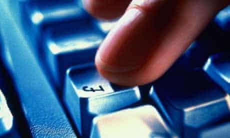 Online shopping pound sign key