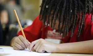 A child drawing a picture