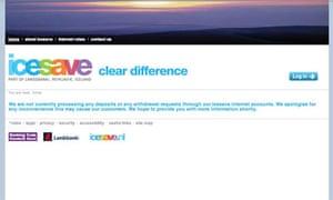Icesave screengrab