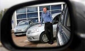 Used-car salesman Steve Clarke