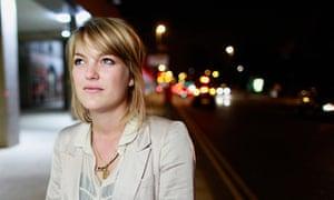 Student Sophie Haydock in Leeds