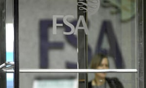 The Financial Services Authority (FSA) building in Canary Wharf, London