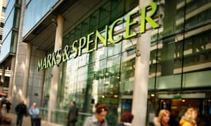 A Marks & Spencer shop in London