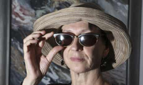 Rebecca Smithers with her Ray Ban sunglasses