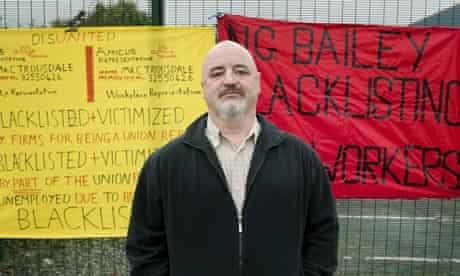 Colin Trousdale blacklisting