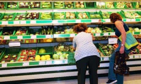 Organic food in Waitrose, Holloway Road
