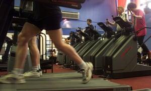 A public gym in Archway, north London