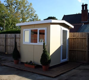 A micro garden shed