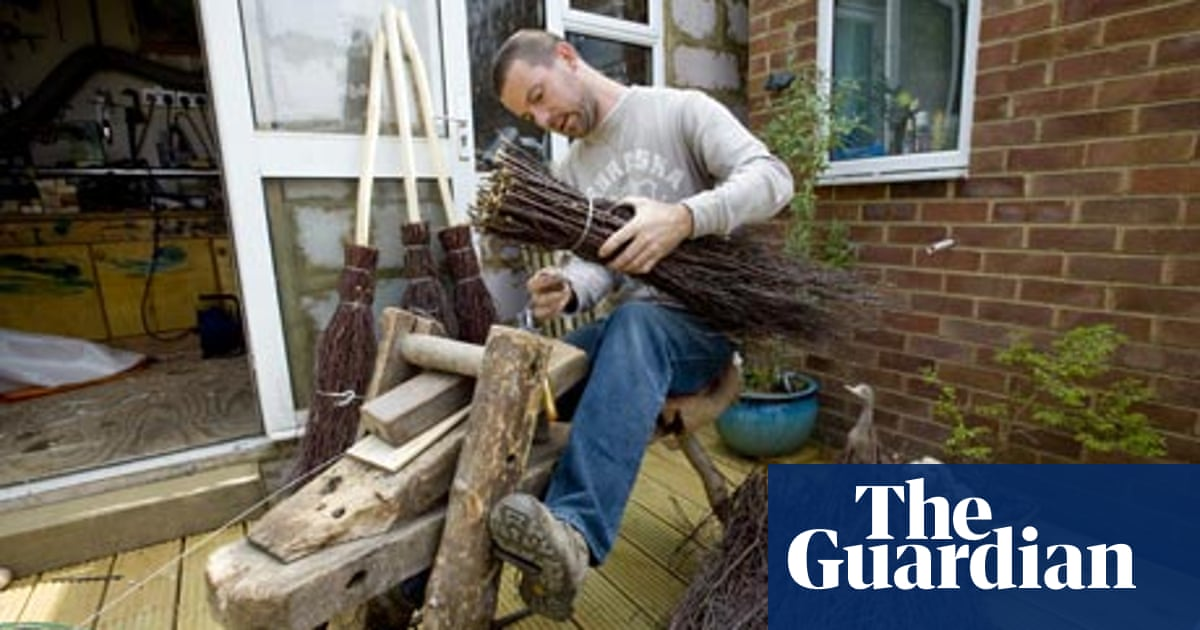 Work: How to make a besom | Money | The Guardian