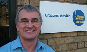 Chief executive of Citizens Advice, David Harker