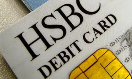 HSBC debit and credit cards