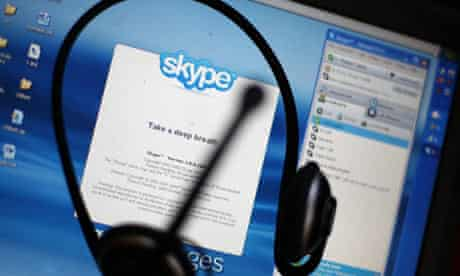 Skype, the online phone and video phone service