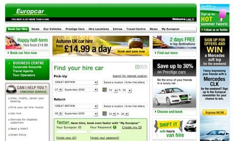 Europcar S Lack Of Staff Makes The Cost Of A Hire Car Even Higher