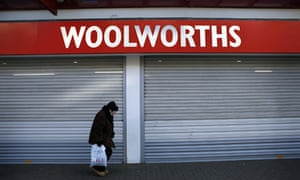 When Woolworths collapsed it had a pension fund deficit of £100m