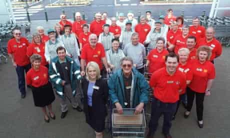 Older workers are actively encouraged at some stores, such as Asda