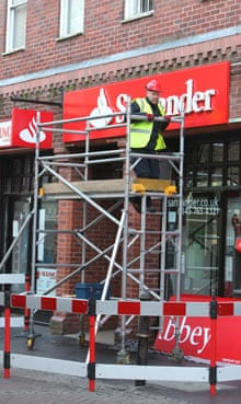 Abbey branches turn into Santander