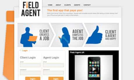 Field Agent – consumer app of the week