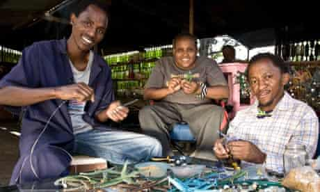 Shanga Christmas decorations transform Tanzanians' lives