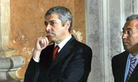 From left: Portuguese Prime Minister Jos