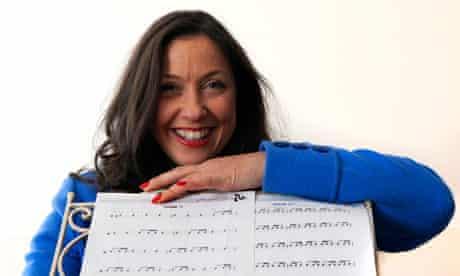 Vanessa Heywood who won a major award for her company Tiny Mites Music.
