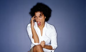 Customer complaints are not often helped if you lose your temper on the telephone or swear at people