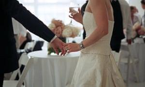 An expensive wedding