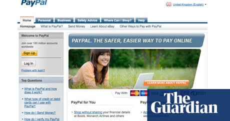 Paypal Not So Friendly Over Return Of Fake Goods Consumer Affairs The Guardian