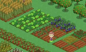 Facebook game FarmVille allows users to buy credits with real money