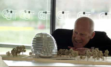 The architect Lord Foster at the unveiling for the London's Mayor's future home