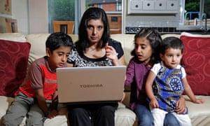 Online investing and women: Samina Ayub and her 3 kids - Daanish, Amber and Urooj
