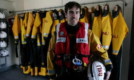 Mark Bell, RNLI lifeboat crew member from Brighton
