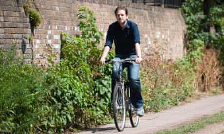 Adam Dewar with his newly purchased bike